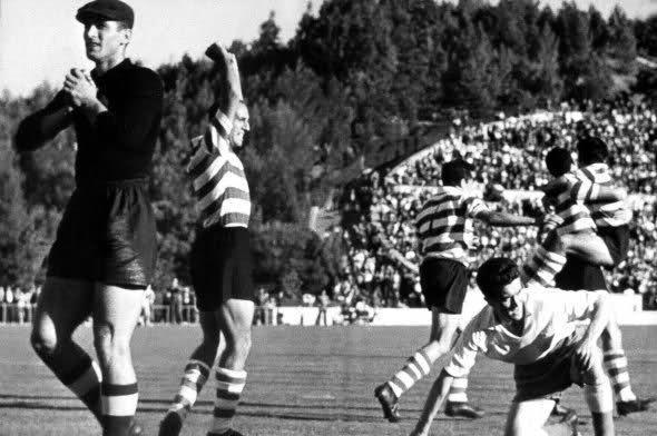 sporting-partizan1955
