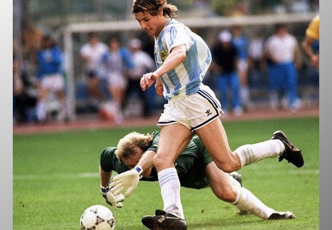 Argentina-Brasile 1-0; la rete di Caniggia