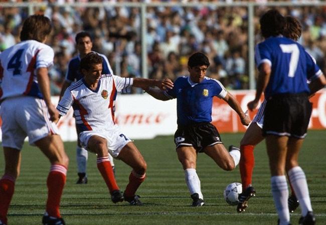 Argentina-Jugoslavia 0-0 (3-2 dcr); Brnovic e Maradona