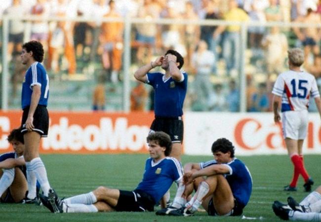 Argentina-Jugoslavia 0-0 (3-2 dcr); la sofferenza biancoceleste