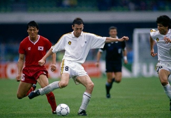 Belgio-Corea del Sud 2-0; Frankie Van Der Elst