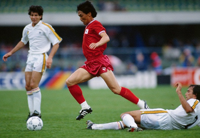 Belgio-Corea del Sud 2-0; Stephane Demol in tackle