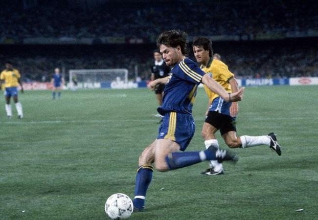 Brasile-Svezia 2-1; Anders Limpar