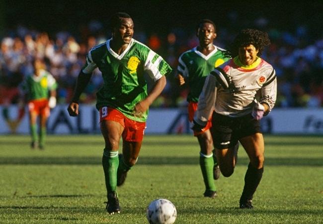 Camerun-Colombia 2-1; Milla si invola verso la rete