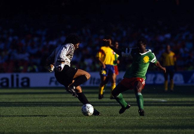 Camerun-Colombia 2-1; l errore di Higuita