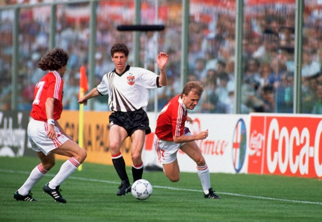 Cecoslovacchia-Austria 1-0; Knoflicek, Hortnagl e Bilek