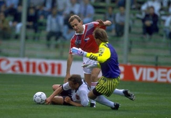Cecoslovacchia-Austria 1-0; Rodax e Weiss