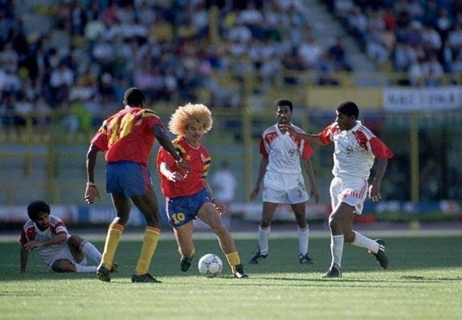 Colombia-Emirati Arabi 2-0; assolo di Valderrama