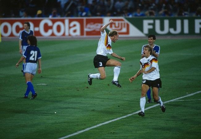 Germania-Argentina 1-0; Klinsmann e Brehme