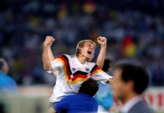 Germania-Argentina 1-0; Klinsmann ebbro di gioia
