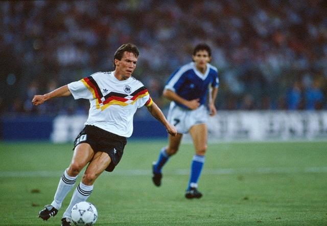 Germania-Argentina 1-0; Matthaus