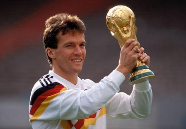 Germania-Argentina 1-0; la Coppa del capitano Matthaus