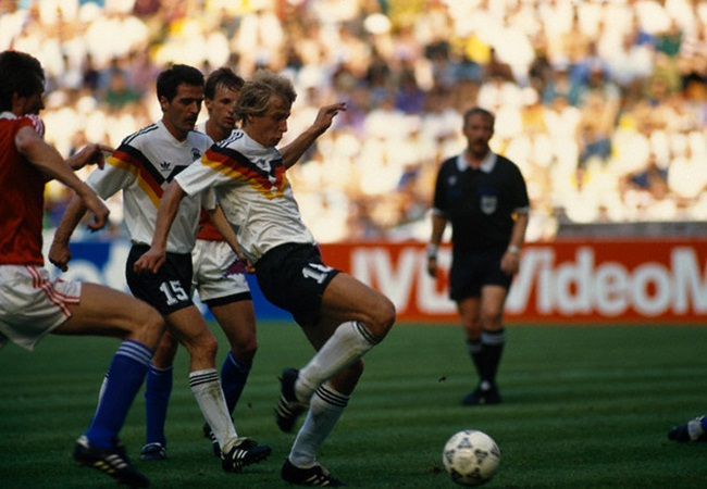 Germania-Cecoslovacchia 1-0; Jurgen Klinsmann