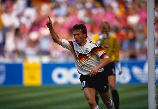 Germania-Cecoslovacchia 1-0; Matthaus dopo il rigore decisivo