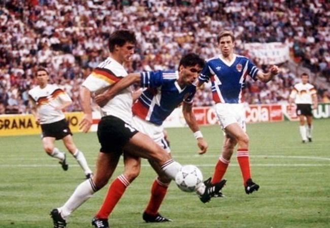 Germania-Jugoslavia 4-1; Berthold e Vujovic