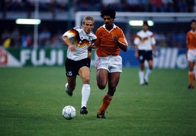 Germania-Olanda 2-1; Klinsmann e Rijkaard