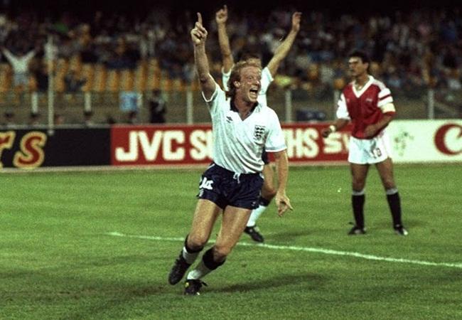 Inghilterra-Egitto 1-0; l esultanza di Mark Wright