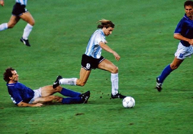 Italia-Argentina 1-1(3-4 dcr); Baresi e Caniggia