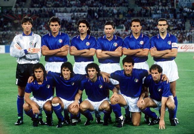 Italia-Austria 1-0; l undici azzurro schierato da Vicini