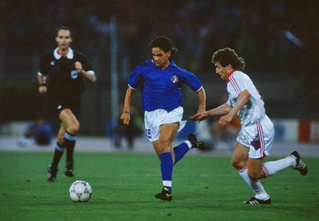 Italia-Cecoslovacchia 2-0; la rivelazione Baggio