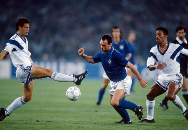 Italia-Stati Uniti 1-0; Schillaci tra gli yankees