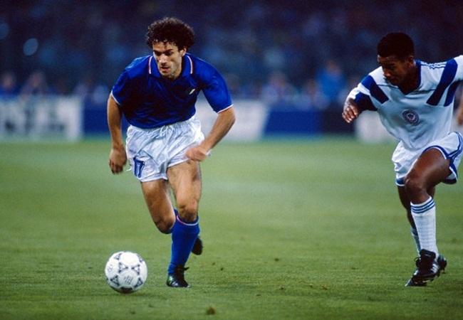 Italia-Stati Uniti 1-0; fuga di Donadoni