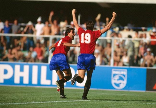 Jugoslavia-Spagna 2-1; Manolo e Salinas, autore del pareggio spagnolo