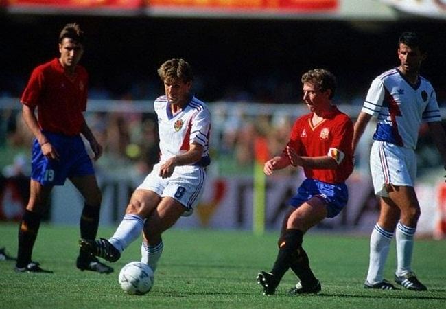 Jugoslavia-Spagna 2-1; Susic e Butragueno