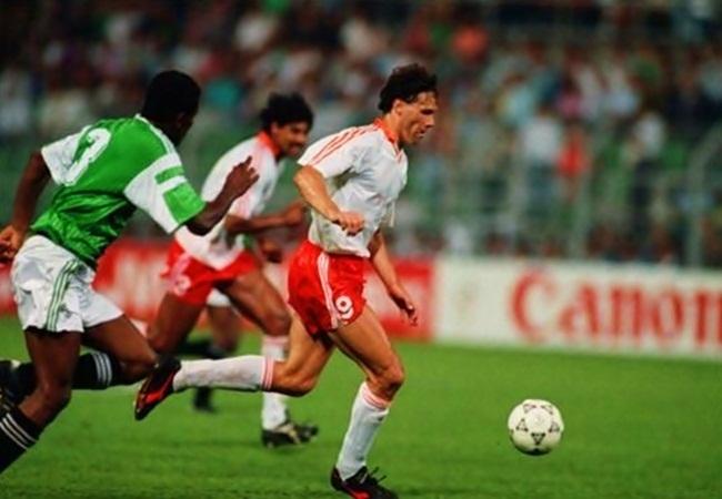 Olanda-Egitto 1-0; Marco Van Basten