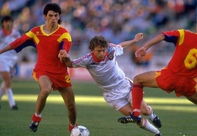 Romania-URSS 2-0; Rednic, Zavarov E Popescu