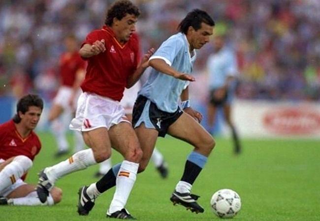 Uruguay-Spagna 0-0; Villaroya e Ruben Sosa