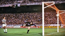 Juventus-Amburgo 0-1 1983 – Il gol di Magath