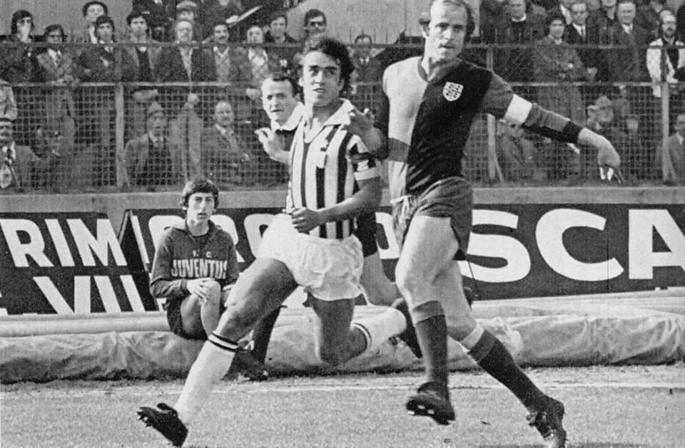 Juventus – Cagliari 1-0, Niccolai in marcatura su Anastasi