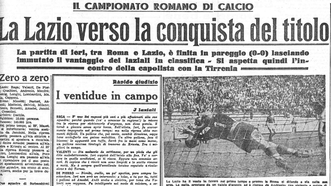 littoriale derby lazio roma 1944