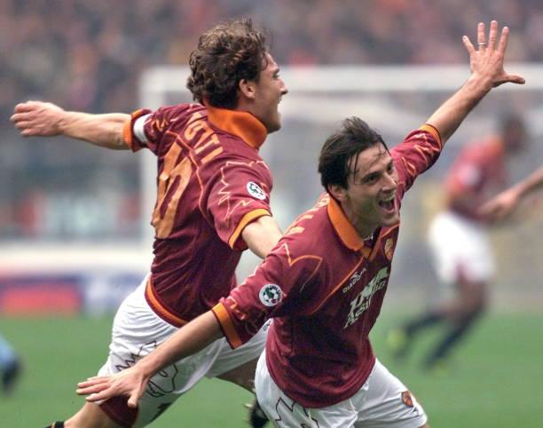 montella totti novembre 1999 roma lazio 4-1