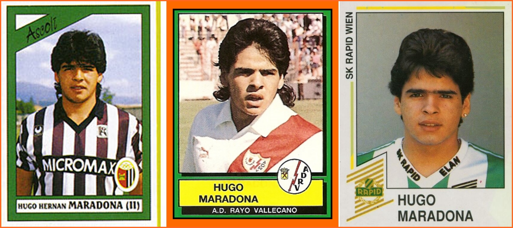 maradona hugo stickers-
