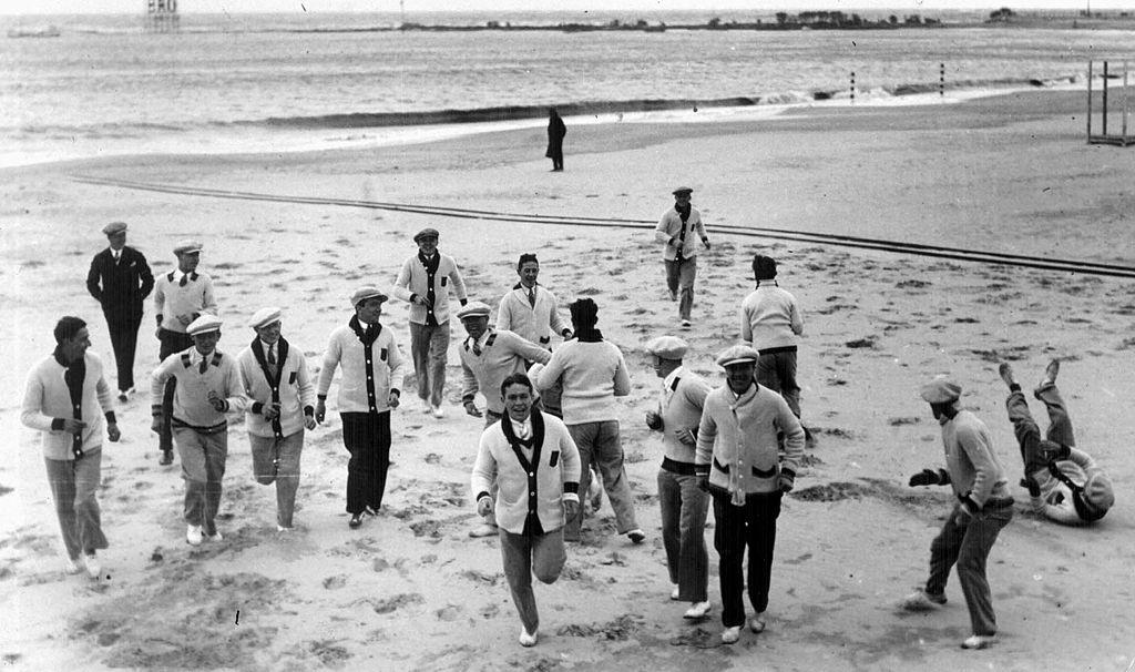 mondiali-1930-team-belgio-spiaggia