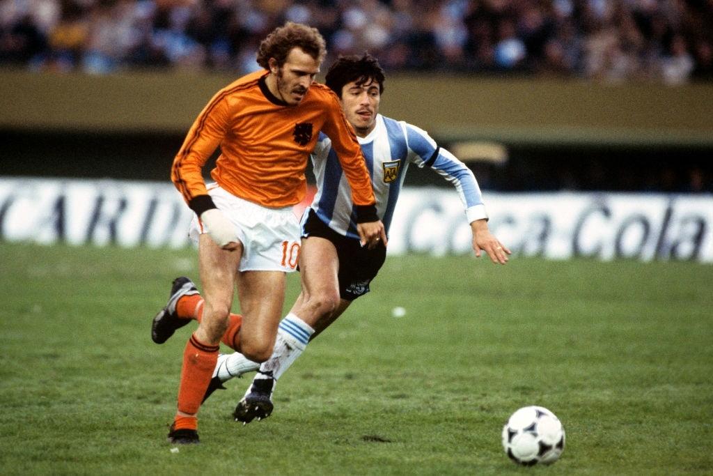 1978 argentina olanda 3-1 Rene van de Kerkhof Daniel Passarella