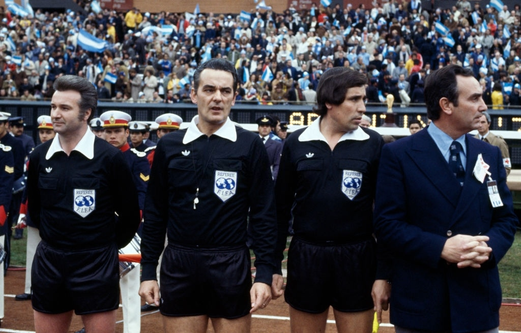 1978 argentina olanda 3-1 Erich Linemayr Sergio Gonella Ramon Barreto Ruiz
