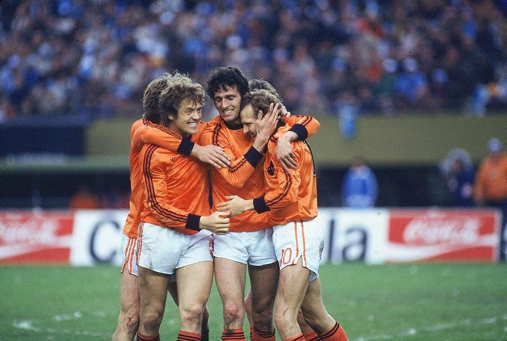 1978 argentina olanda 3-1 esultanze rete Nanninga