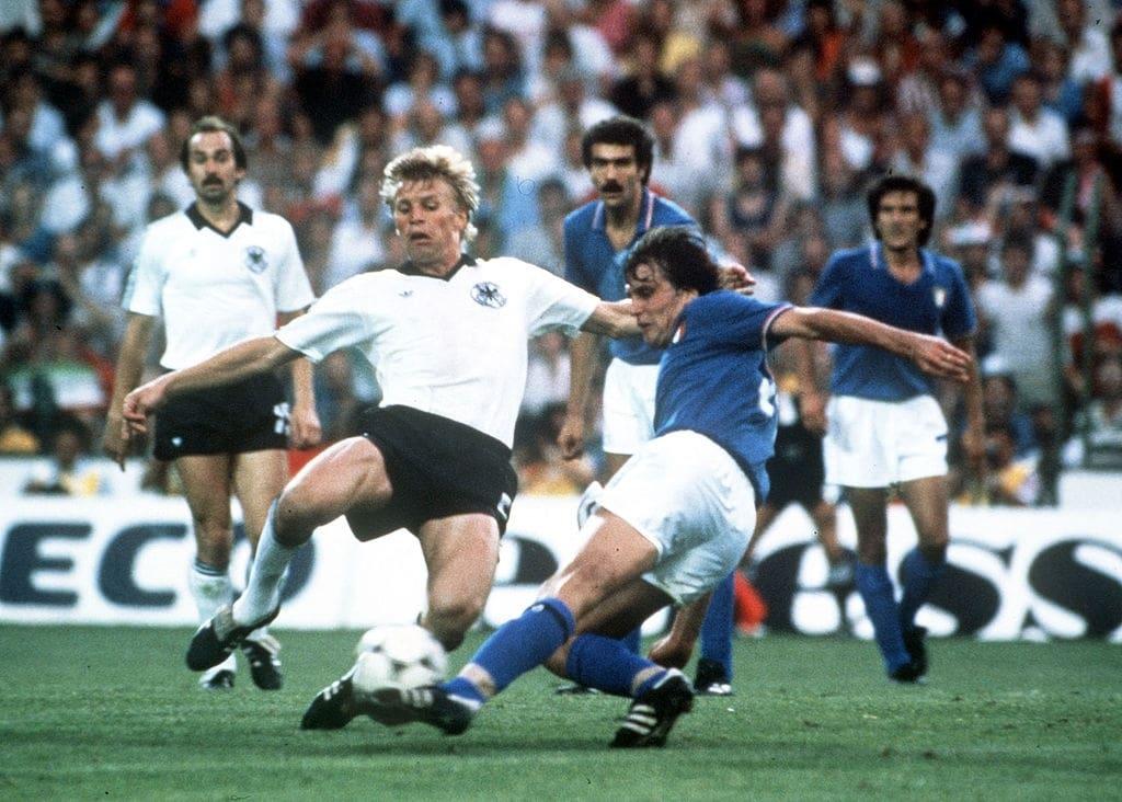 1982 italia germania 3-1 la rete del 2-0 di Tardelli