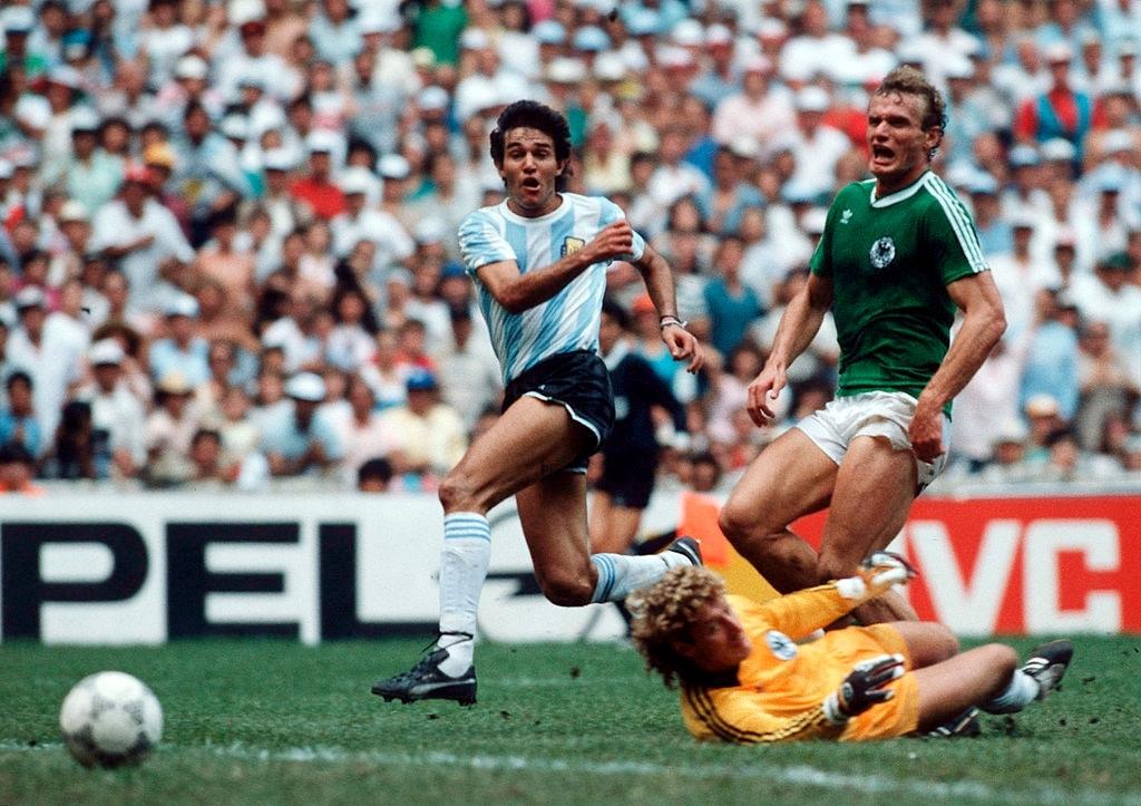 1986 argentina germania ovest 3-2 rete Burruchaga 2