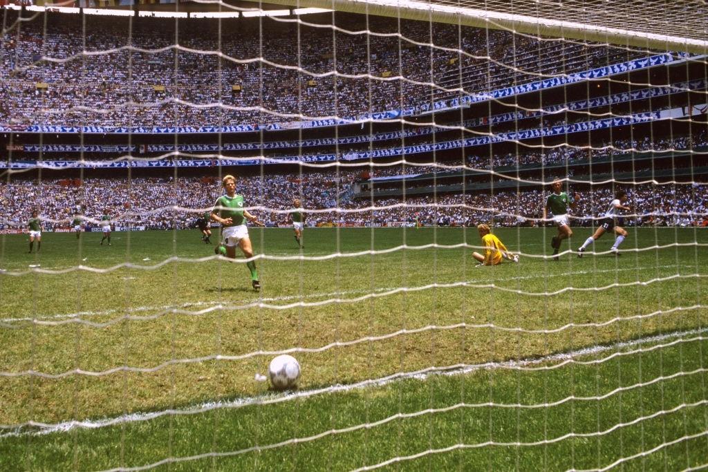 1986 argentina germania ovest 3-2 rete Valdano