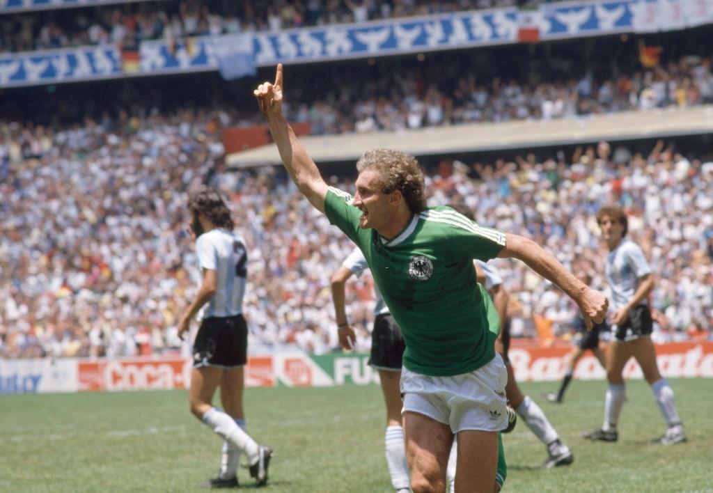 1986 argentina germania ovest 3-2 rete Voeller
