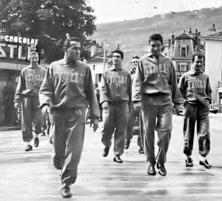 Italiani in ritiro a Vevey