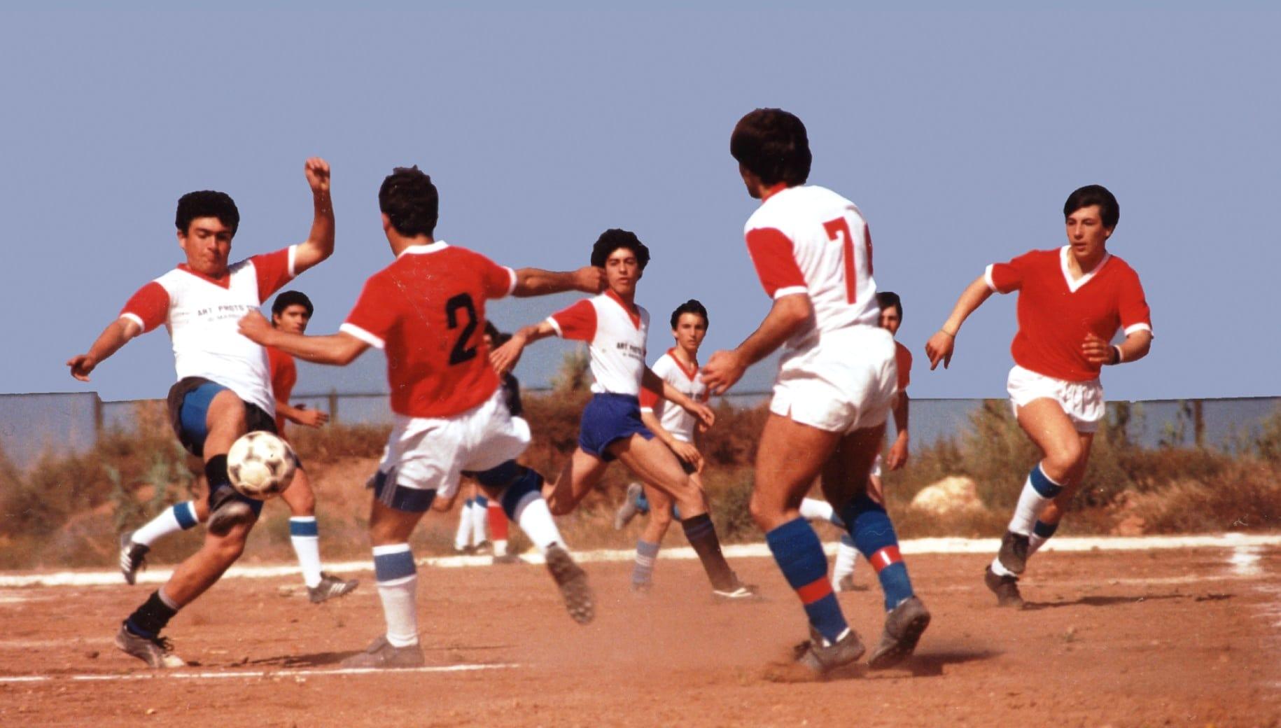 calcio a portopalo anno 1984