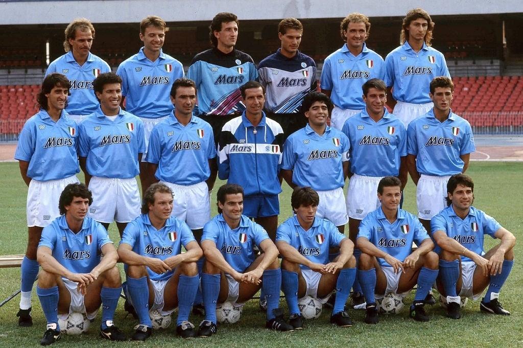 napoli maradona 1990-91