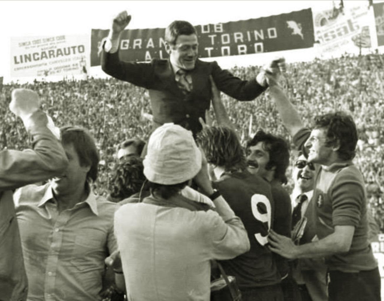 radice trionfo scudetto torino 1976