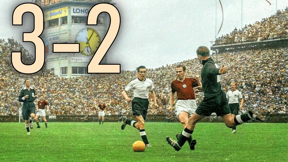 Wankdorf Stadium, Bern (1954) West Germany v Hungary