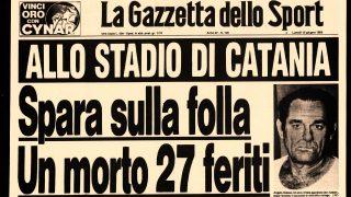 catania strage stadio 12 giugno 1983